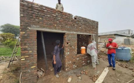 The housing project for Pakistan Earthquake survivors begins